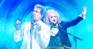 Have all the luck in great floors w/ ROD STEWART & CYNDI LAUPER