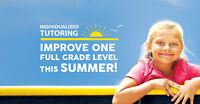 Catch Up & Get Ahead in Math, Reading& French this Summer!
