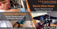 Water Heater Repairing Services at inexpensive prices