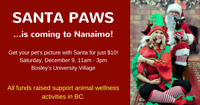 Pet Pictures with Santa at Bosley's University Village!