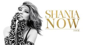 2-8 Shania Twain tickets - FLOORS SEATS - Friday + Saturday ACC