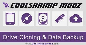 Drive Cloning & Data Backup