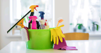 University student offering house cleaning