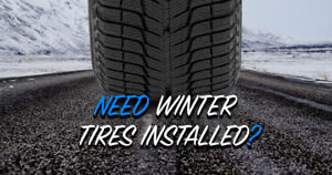 ☃️ Winter Tire Install Special ☃️