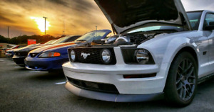 2007 Supercharged V8 Mustang Gt