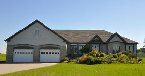 Executive Home w/Triple Garage on 1.07 acres in Dorchester London Ontario image 1