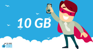 $56 for 10 GB LTE DATA + MORE! Cellphone Man Canada