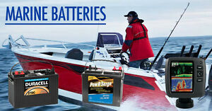 Marine Batteries for your Boat!