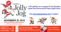 Jolly Jog 2019 - Nov 23rd