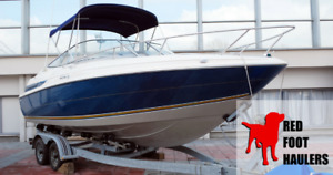Shipping for Boats, Campers, RV, Moose Jaw, Call 647-313-9925