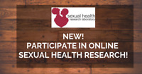Participate in ONLINE Sexual Health Research *Prizes Available*