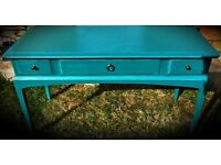 Stag minstrel sideboard console table dresser upcycled