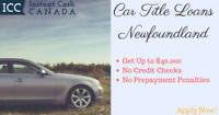 Car Title Loans Newfoundland With No Prepayment Penalties
