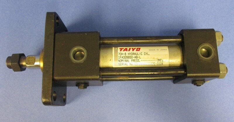 TAIYO 70H-8 7MPa HYDRAULIC CYLINDER 1FA32BB50-AB-L