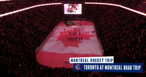 TORONTO MAPLE LEAFS @ MONTREAL CANADIENS - FEB 8 - 10