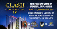 CLASH AT THE COLOSSEUM IV - Windsor Express vs. KW Titans