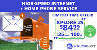 Xplornet Satellite Internet   Home Phone Free for 6 Months