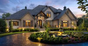 Custom Homes Blueprints House Plans