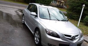2007 Mazda 3 s 5DR (245 000 km) 4 Cylinders