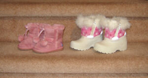 Baby and Toddler Winter Boots - sz 3, 5, 5.5, 10 (boys boots)
