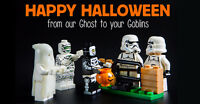 BRICK or TREAT - Halloween Building Fun for Kids Gr 1-5