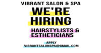 Hairstylist & Estheticians for New Location