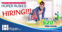 Earn 20/hr + Tips + Bonuses!! Best Cleaning/Maid Service in GTA.