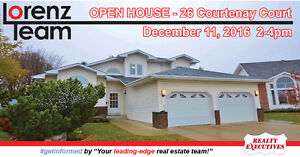 OPEN HOUSE! 26 Courtenay Court in Sherwood Park - December 11th