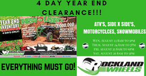 End of Year Clearance @ Rockland Wheels!! MEGA SALE