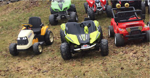 Wanted broken/unwanted 12v or 24v power wheels or peg perego