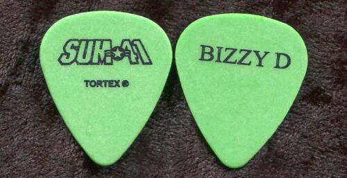 SUM 41 2003 Infected Tour Guitar Pick!!! DERYCK WHIBLEY custom concert stage #1