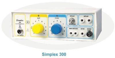 300w Electrosurgical Generator Electrocautery Diathermy Monopolar Bio Machine Be