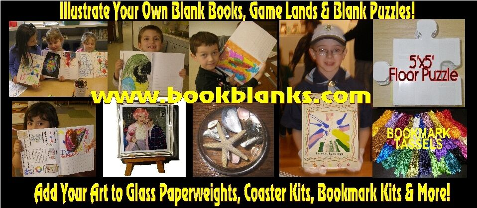 BookBlanks-Affordable Paperweights