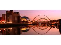 Newcastle Upon Tyne Canvas Print Panoramic