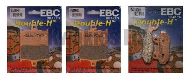 Triumph Sprint ST 955i 1999-2004 Set of EBC HH Front and Rear Brake Pads