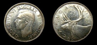 Canada 1944 25 Cents 4989