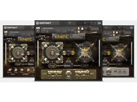 Native Instruments Kinetic Metal Audio VST Software