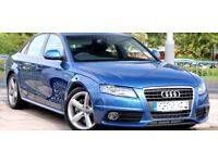 2009 59 AUDI A4 2.0 S LINE TDI 78K BLUE DIESEL(CHEAPER PART EX WELCOME)