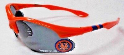 READ LISTING! New York Mets BULLSEYE 3D logo on ORANGE Blade Sunglasses! - Bullseye Sunglasses