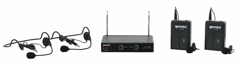 Gemini VHF Series VHF-02HL Professional Audio DJ Equimpent S
