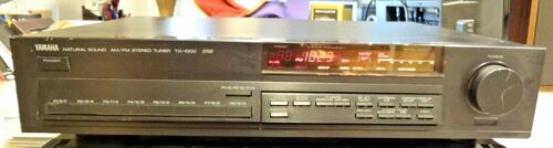 YAMAHA Natural Sound AM/FM Stereo Tuner TX 1000 RS  Tuning System Tested.
