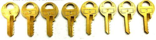 Master M1 Space And Depth Keys 4 Cut Blanks HPC C35 Code Card