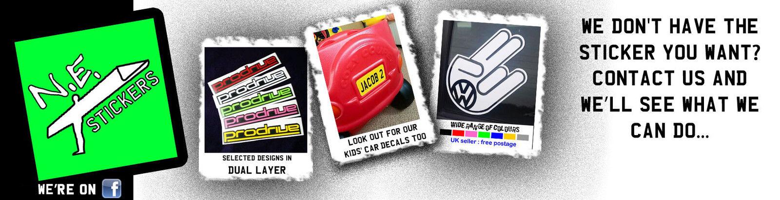 N.E.stickers