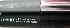 CLINIQUE Mascara x 2 BLACK Lash Doubling & High Impact free post gwp size