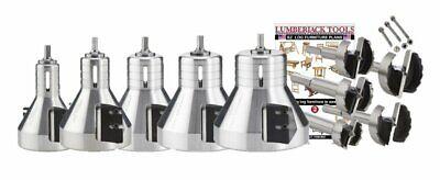 Lumberjack Tools 5-piece Industrial Series Professional Kit Isk5n