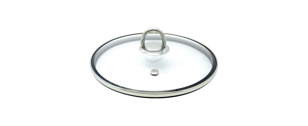 ELO Stainless Steel Kitchen Induction Cookware Lid with Sili