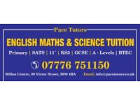 Maths, English & Science Tutor for Primary | GCSE|A-Levels |KS3|BTEC
