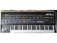 Roland Jupiter 6 vintage synthesizer
