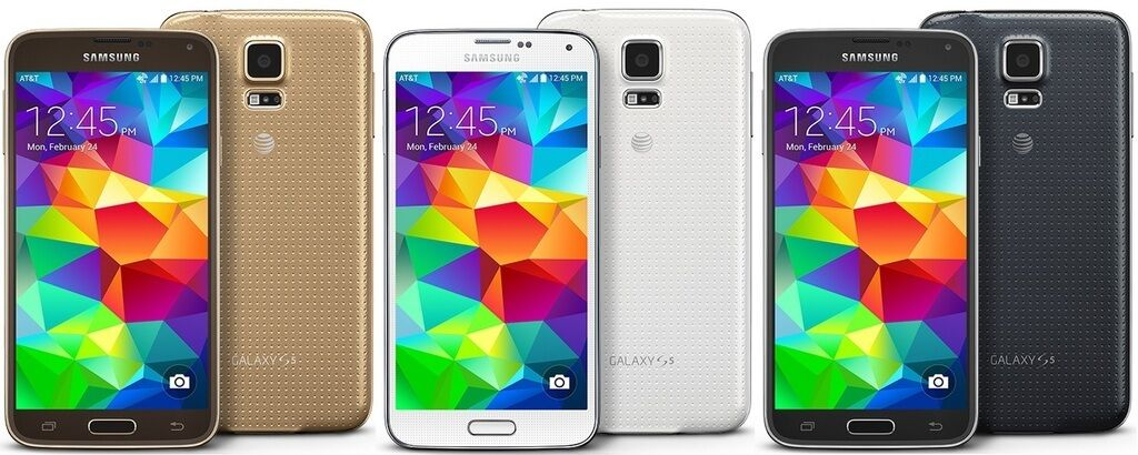 NEW NEW SAMSUNG GALAXY S5 SM-G900A AT&T FACTORY UNLOCKED 16GB SMARTPHONE ALL COLORS