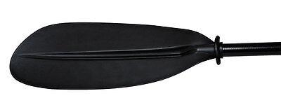 H2o Elite Eclipse Asymmetrical 230cm Kayak Paddle (BlackTwo Part) Glass/Carbon